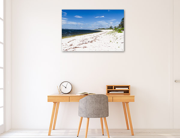 Nelson Bay Canvas Print NSW Beach Picture Wall