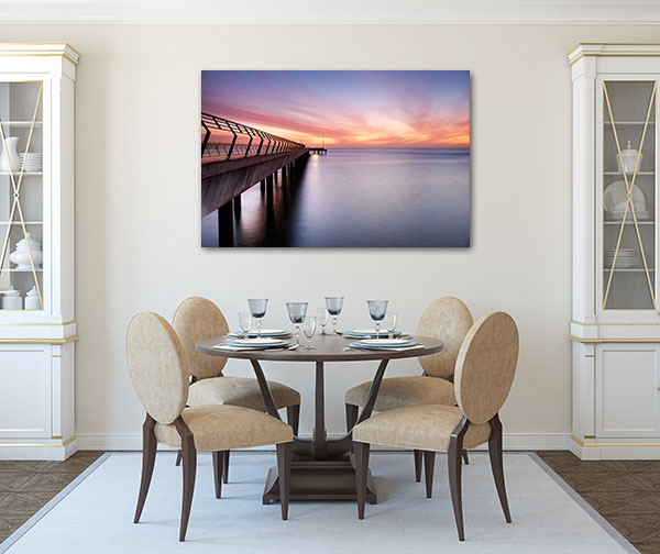 New Lorne Jetty Canvas Art