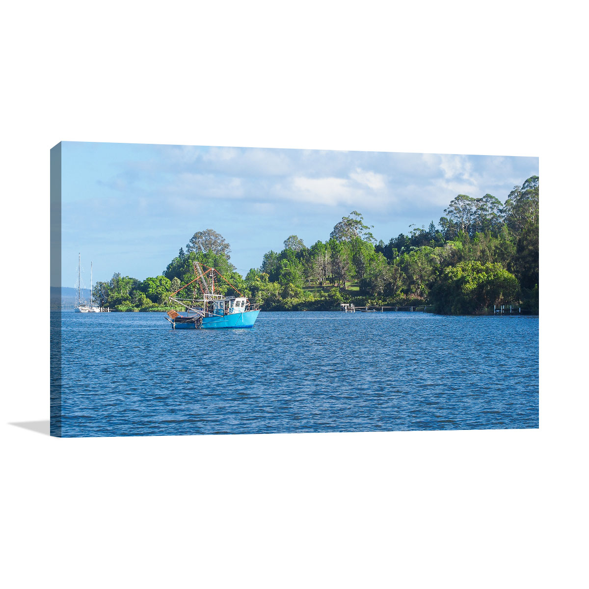 New South Wales Art Print Clarence River