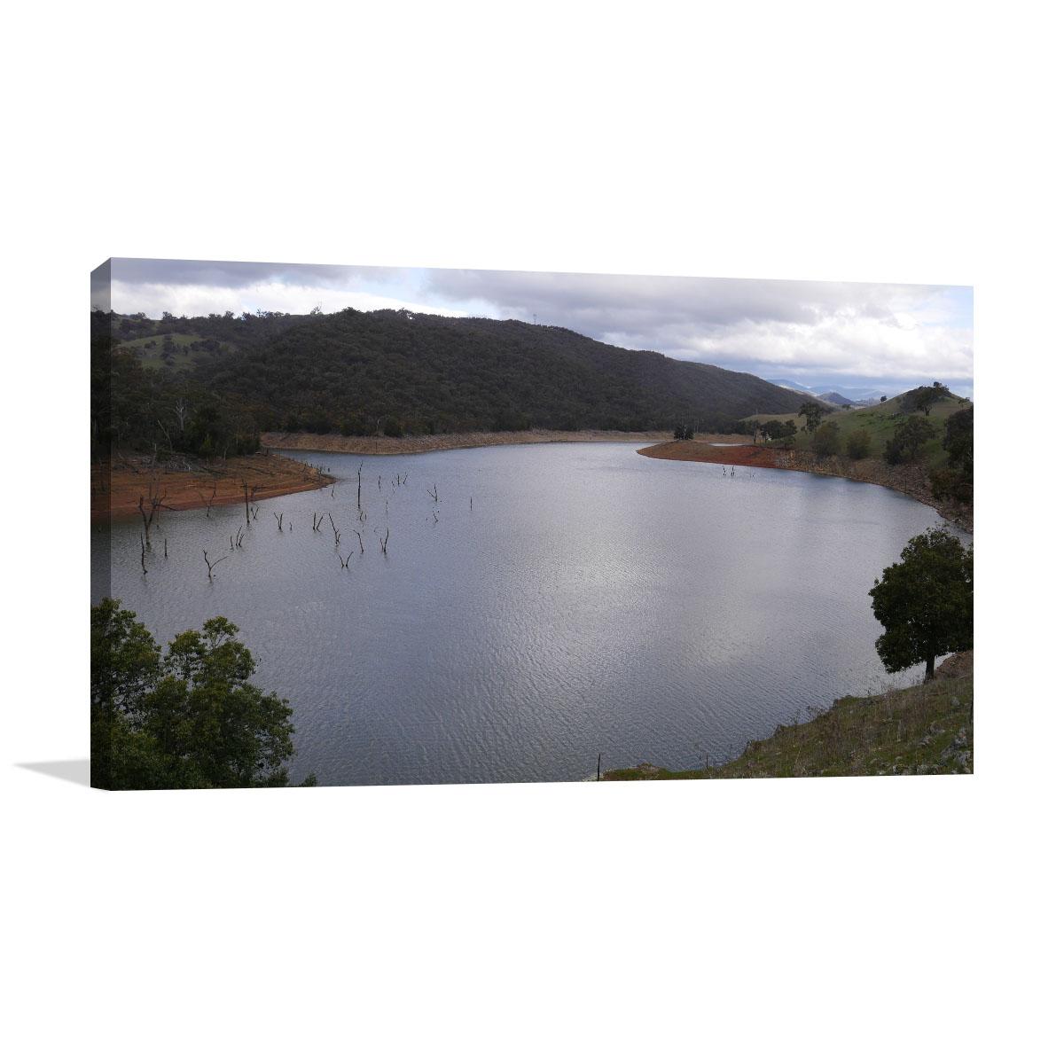 New South Wales Art Print Goodradigbee River