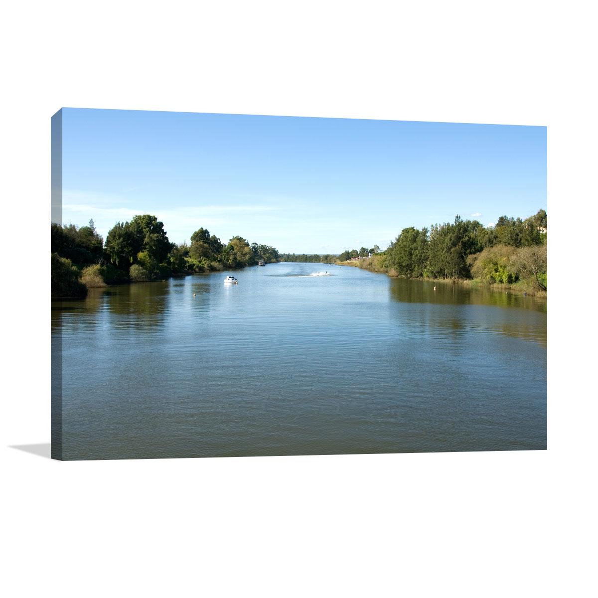 New South Wales Art Print Hawkesbury River