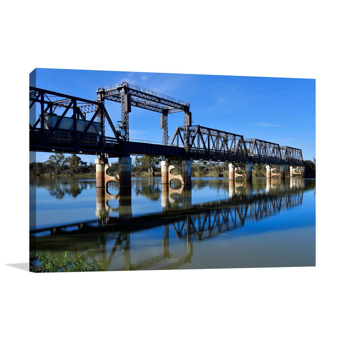 New South Wales Art Print Murray Rivers