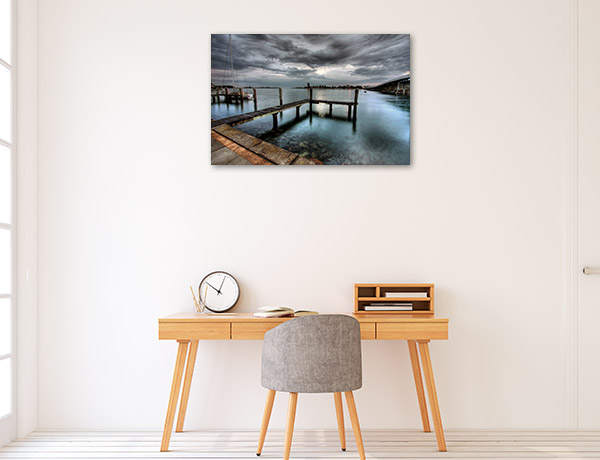 New South Wales Art Print Tuncurry Jetty Wall Canvas