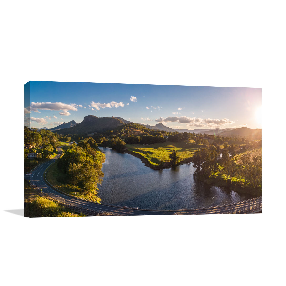 New South Wales Art Print Tweed River