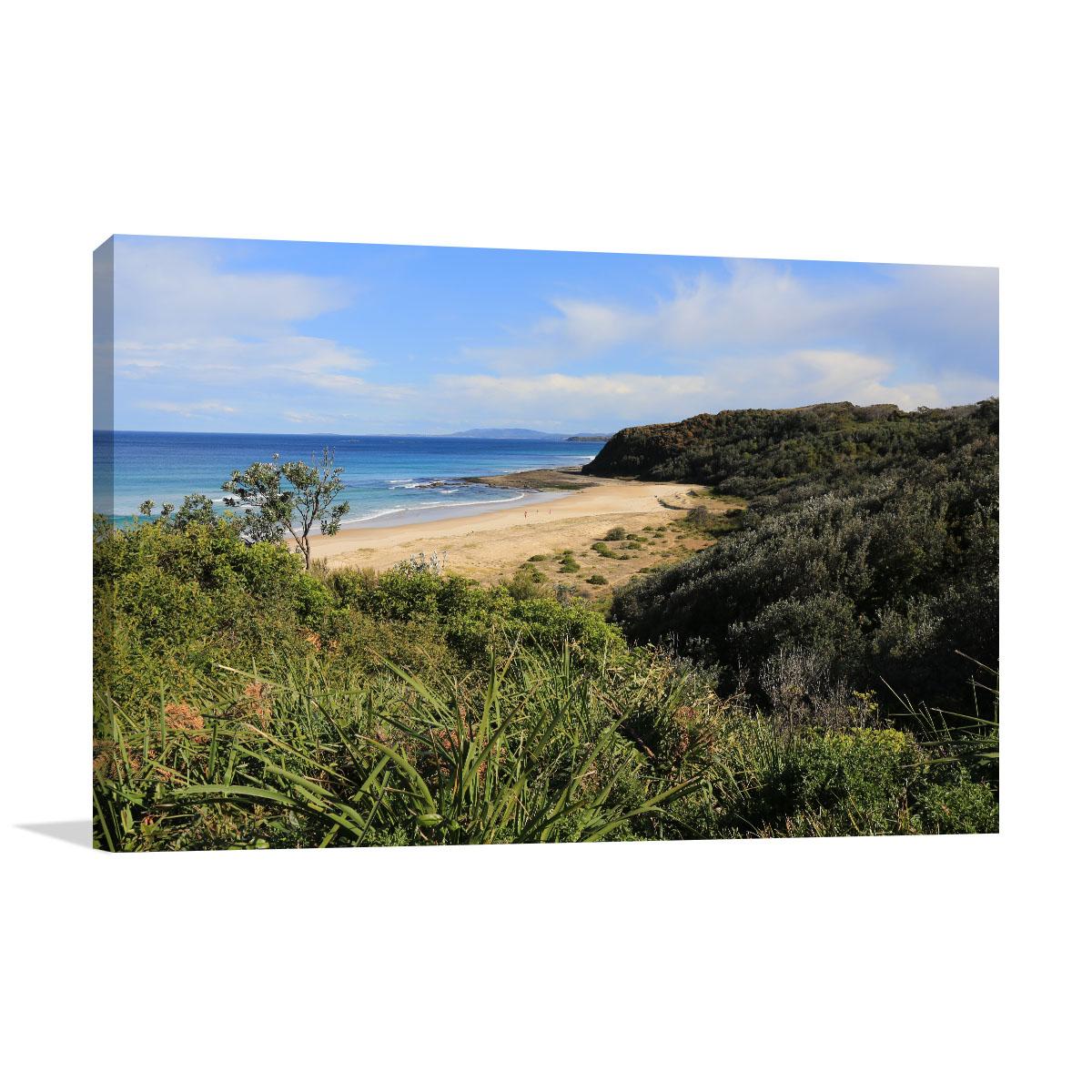 New South Wales Art Print Ulladulla Beach