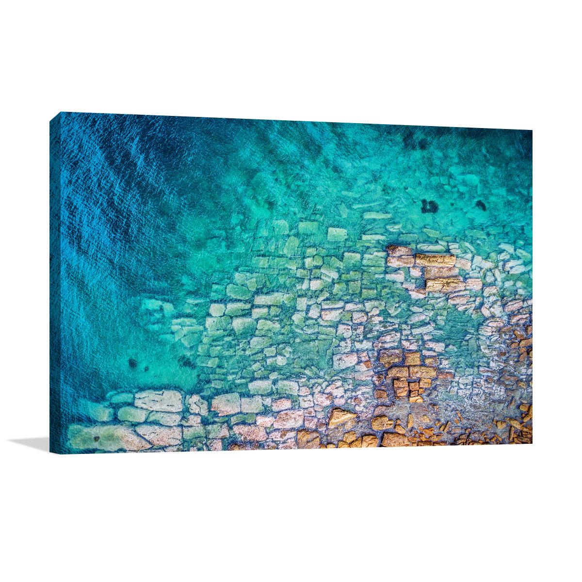 New South Wales Art Print Water Coast
