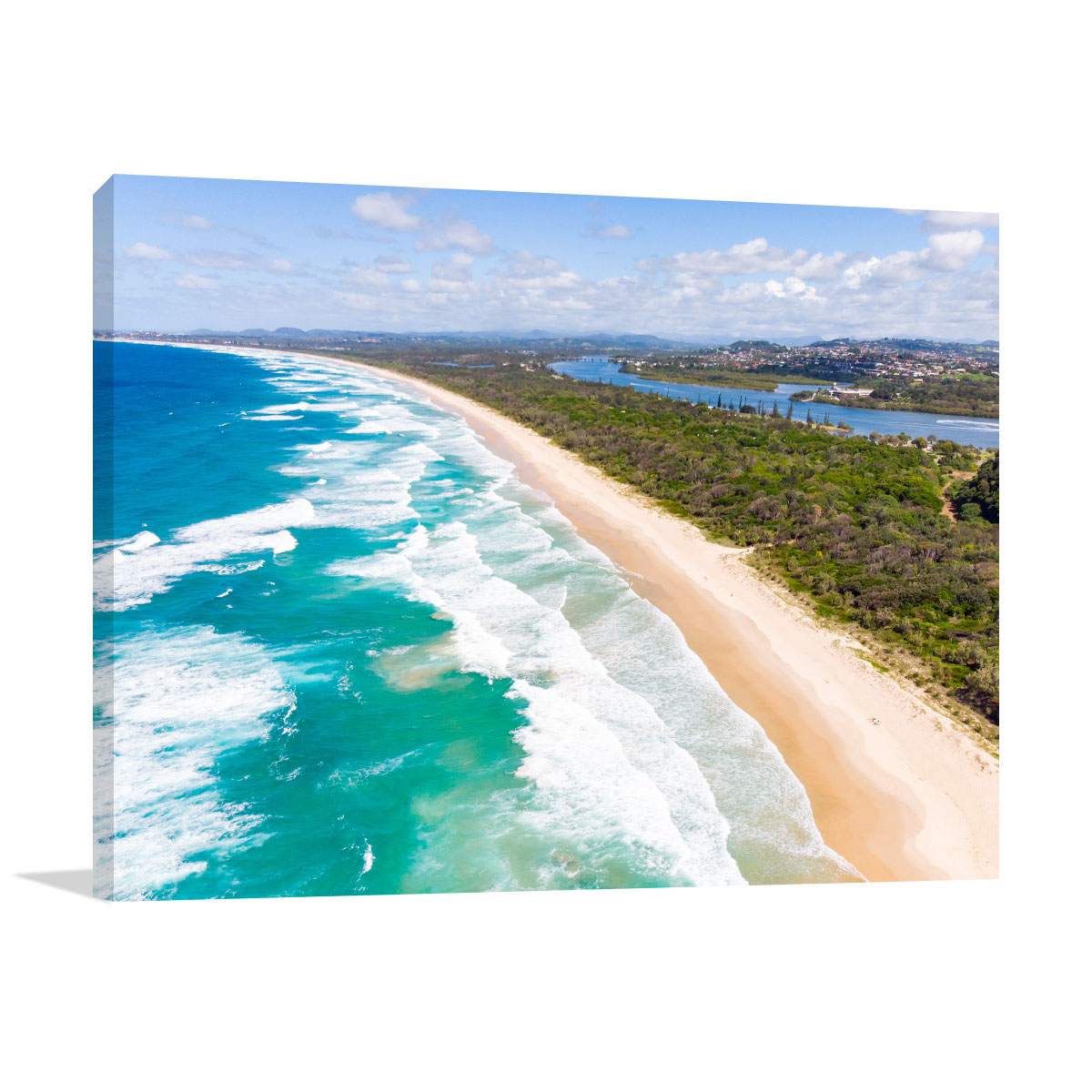 New South Wales Art Print Wommin Bay