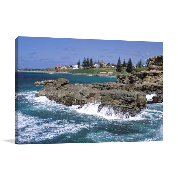 New South Wales Art Print Yamba Coast Canvas Artwork