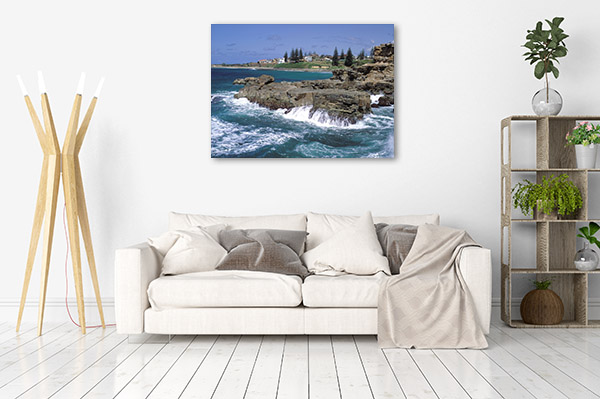New South Wales Art Print Yamba Coast Picture Canvas