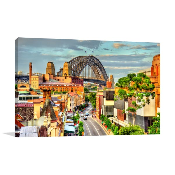 New South Wales Prints Canvas