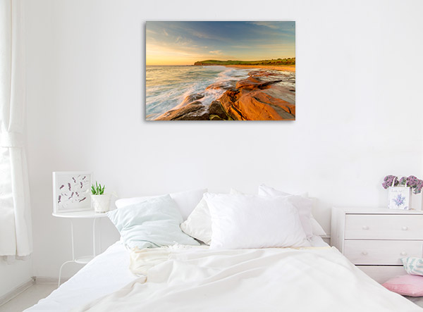 New South Wales Canvas Print Gerringong Beach Wall Photo