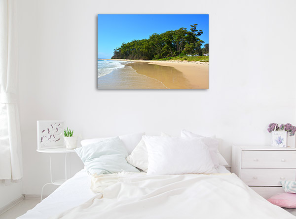 New South Wales Canvas Print Mollymook Beach Photo Artwork