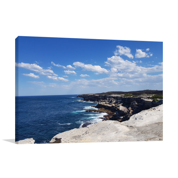 New South Wales Canvas Print Stanwell Park Picture Art