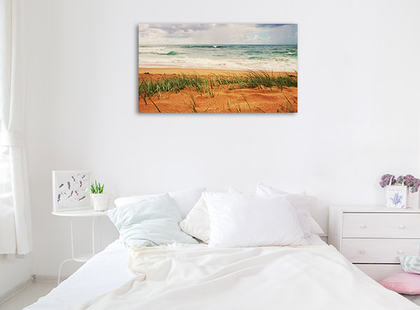New South Wales Canvas Print Thirroul Seashore Photo Wall Arts