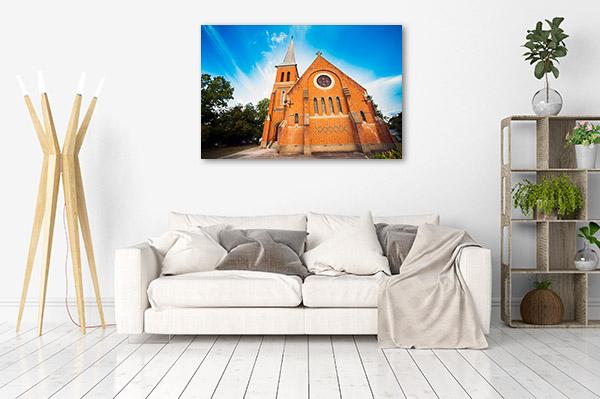 New South Wales Canvas Print Tumut Church Photo Art