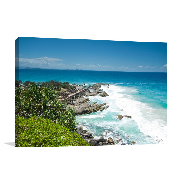 New South Wales Canvas Print Tweed Heads Picture Artwork