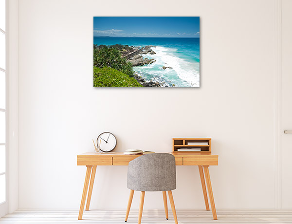 New South Wales Canvas Print Tweed Heads Art Picture