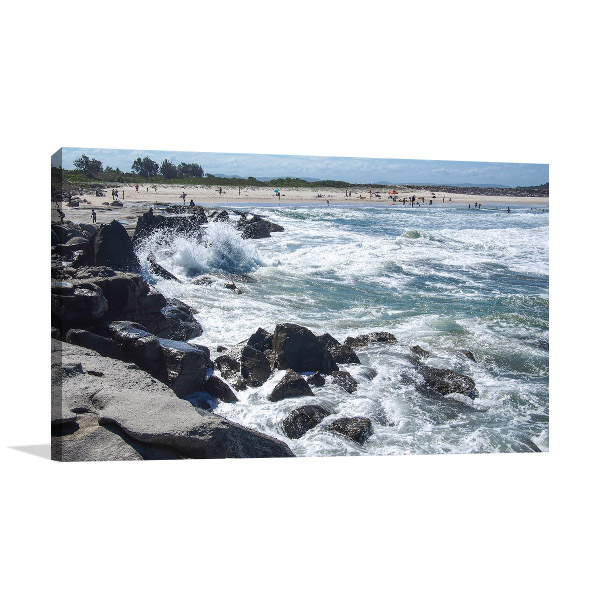 New South Wales Canvas Print Yamba Artwork