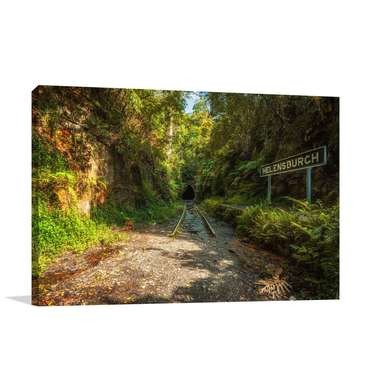 New South Wales Photo Art Print Railway Station