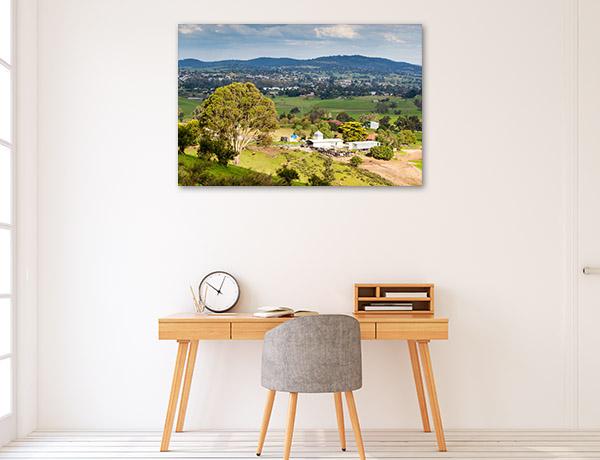 New South Wales Wall Print Bega Farmland Photo Art