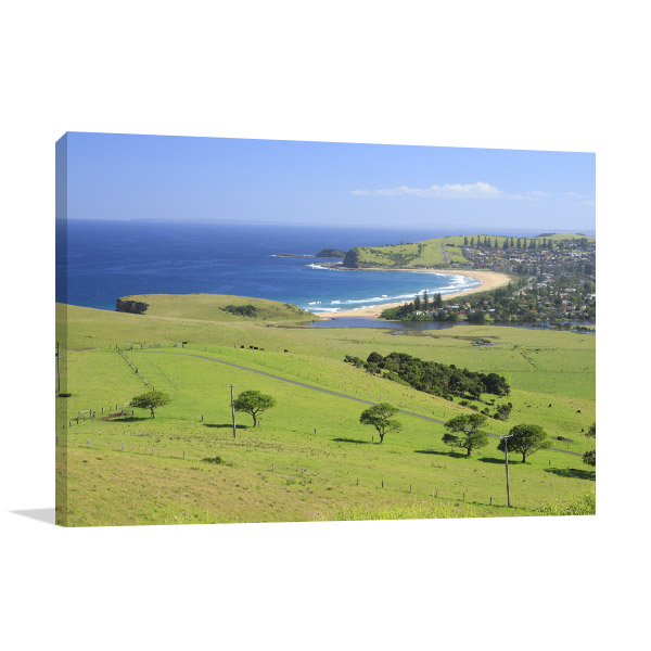New South Wales Wall Print Gerringong Coast Picture Art