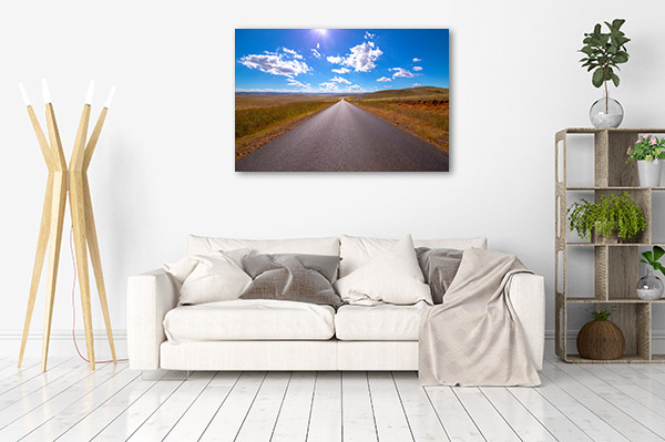 New South Wales Wall Print Jindabyne Road Canvas Art