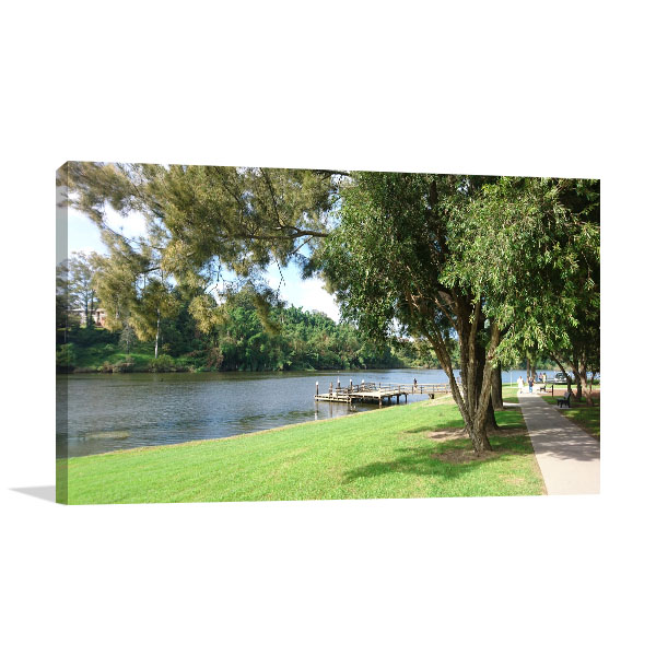 New South Wales Wall Print Kempsey Park Photo Canvas