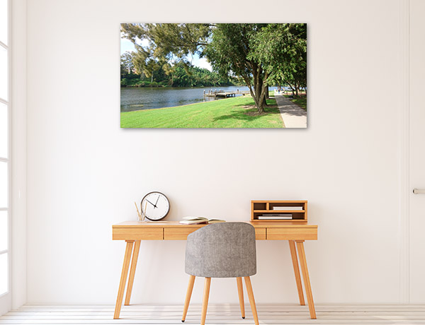 New South Wales Wall Print Kempsey Park Artwork Canvas