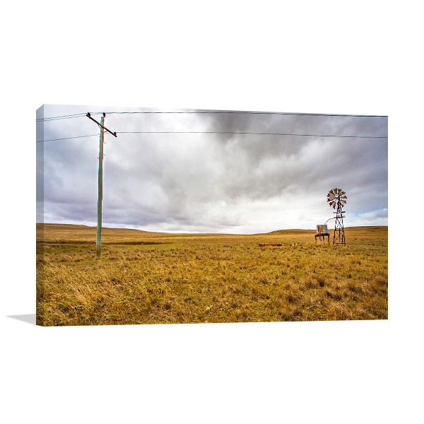 New South Wales Wall Print Tumut Artwork Picture