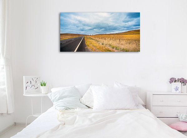 New South Wales Wall Print Tumut Outback Artwork Canvas