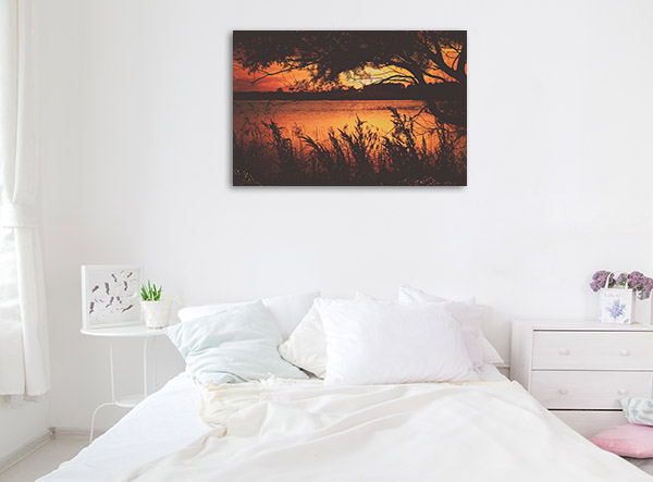 New South Wales Wall Print Uralla Sunset Picture Canvas