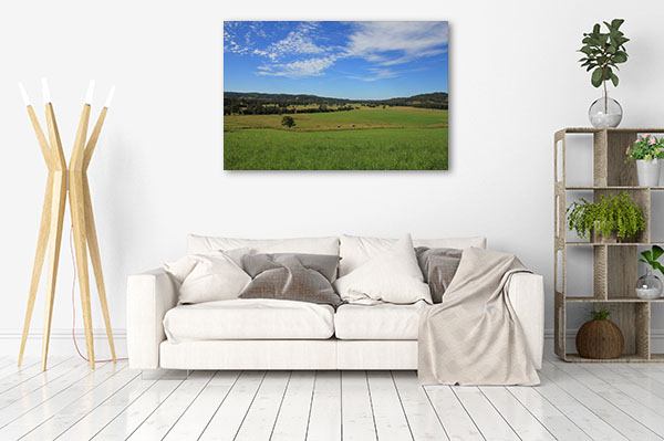 New South Wales Wall Print Wauchope Meadow Canvas Art