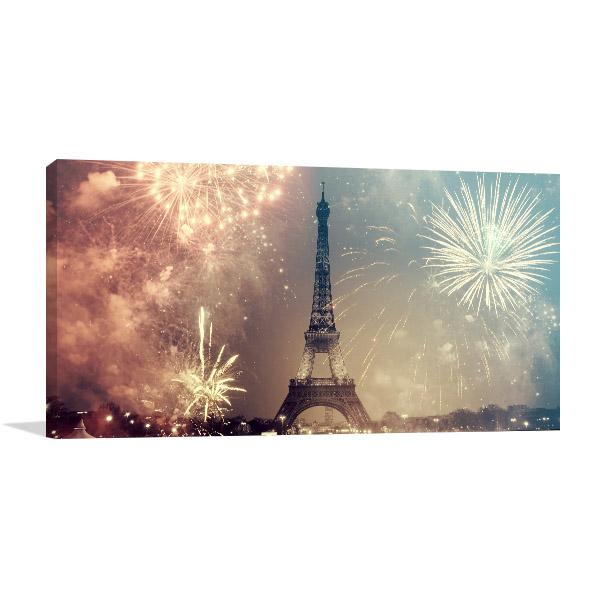 New Year in Paris Art Prints