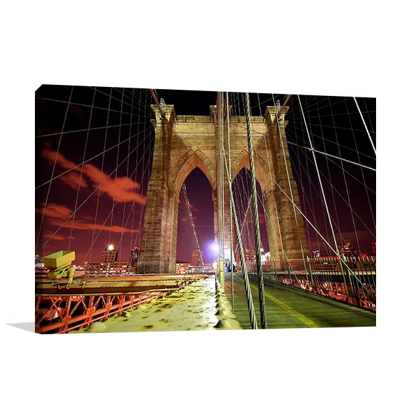 New York Brooklyn Bridge Print