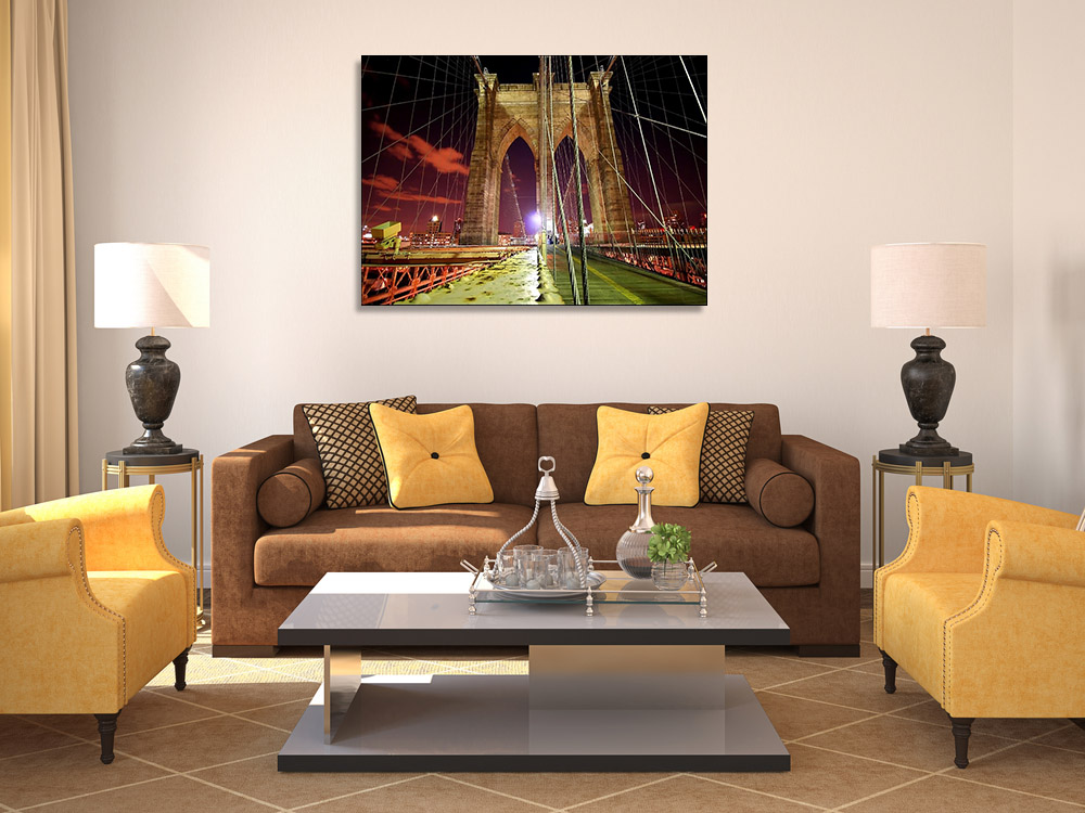 Night Photography Wall Print