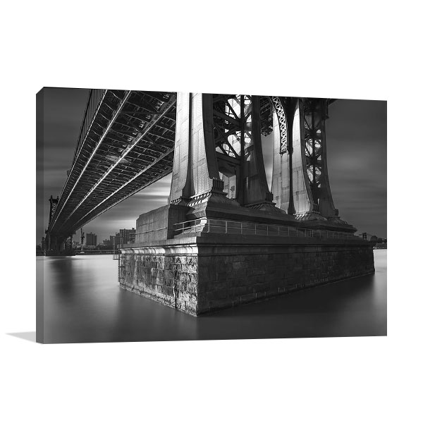New York City Manhattan Bridge Print