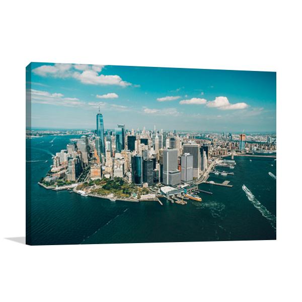 New York Manhattan Wall Art Print