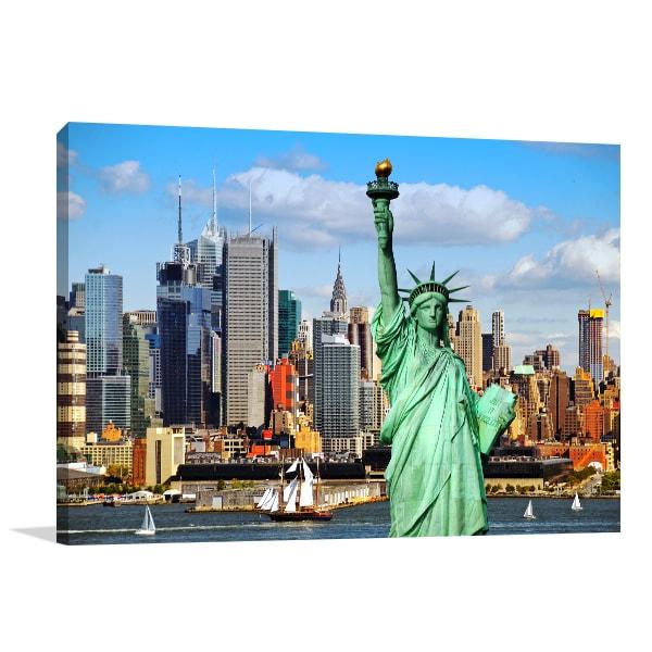 New York Skyline Print Artwork