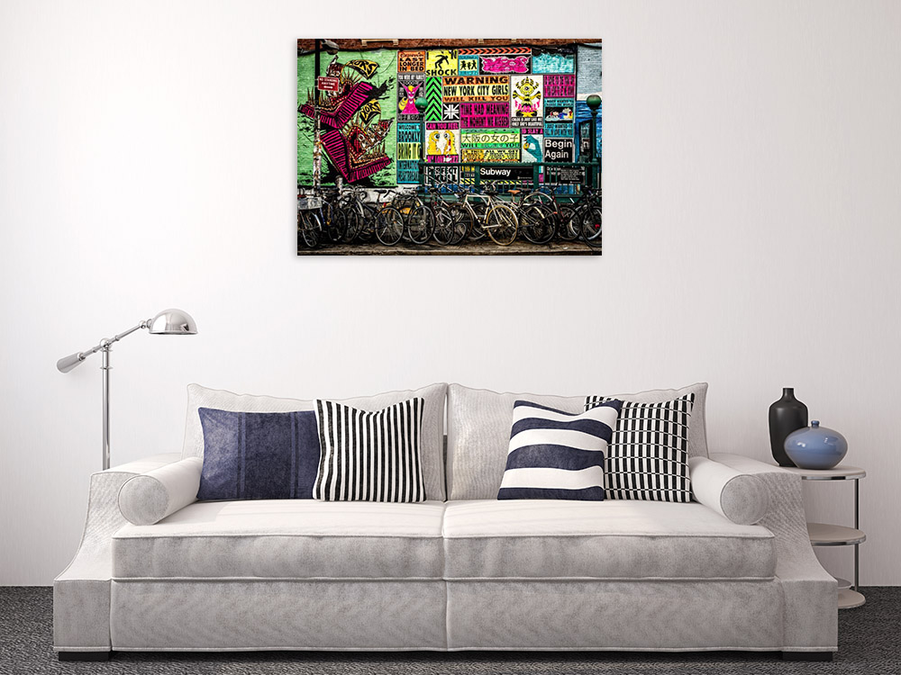 Streetscapes Wall Art on Canvas
