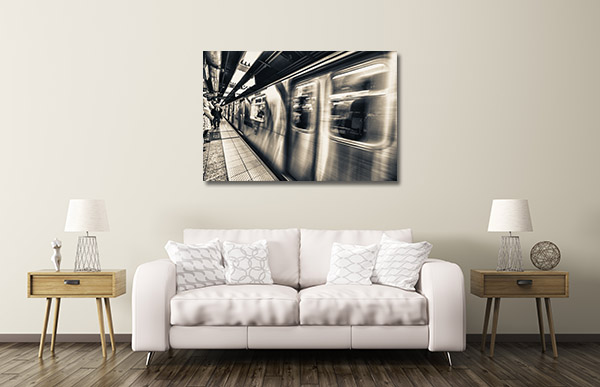 New York Subway Prints Canvas