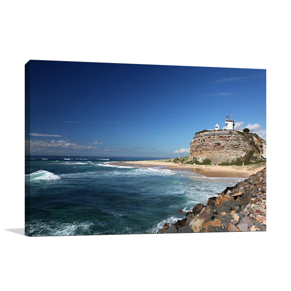 Newcastle Australia Nobbys Lighthouse Print
