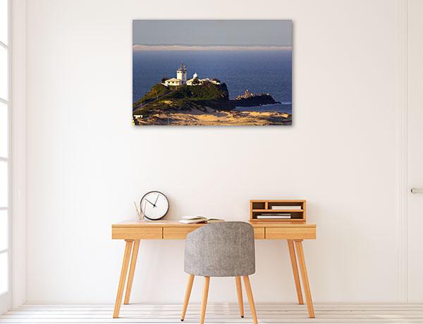 Newcastle Wall Print Nobbys Head Lighthouse Artwork Photo