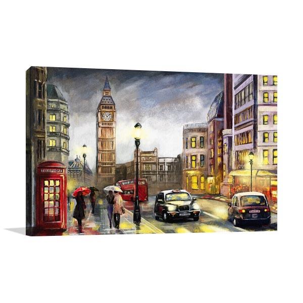 Night Street London Artwork