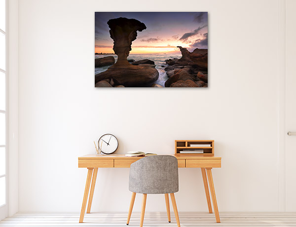 Noraville Canvas Print Rock Formations NSW Photo Wall Arts