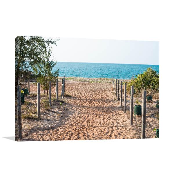 Northern Territory Canvas Print Nhulunbuy Town of Arnhem Beach Art Photo