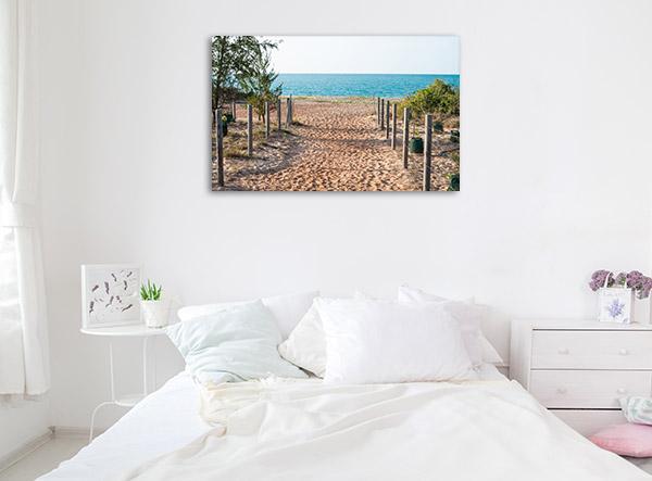 Northern Territory Canvas Print Nhulunbuy Town of Arnhem Beach Artwork Photo