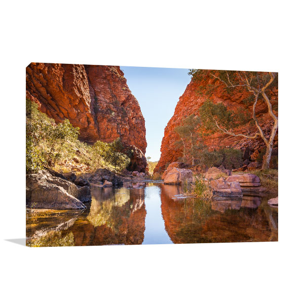 Northern Territory Canvas Print Simpson Gap Alice Springs Artwork Picture