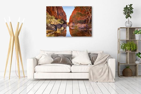 Northern Territory Canvas Print Simpson Gap Alice Springs Wall Art