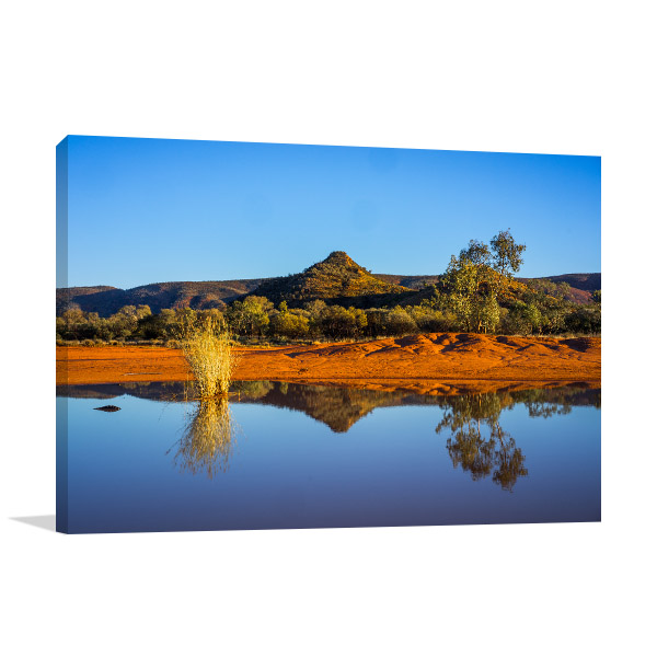Northern Territory Wall Art Print Alice Springs Picture Canvas