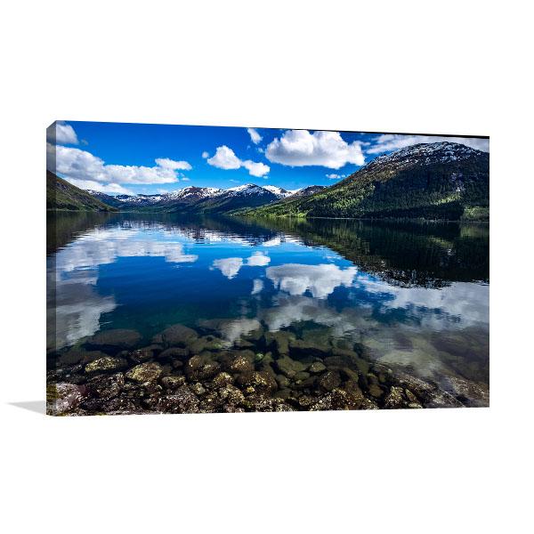 Norway Natural Landscape Canvas Art